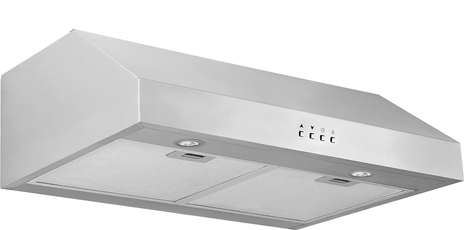 affordable stainless steel range hood