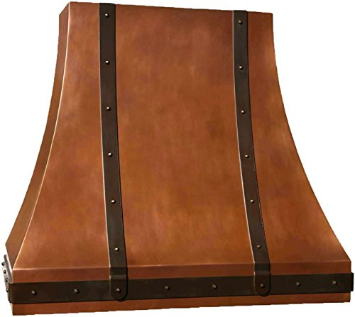 heavy copper range hood